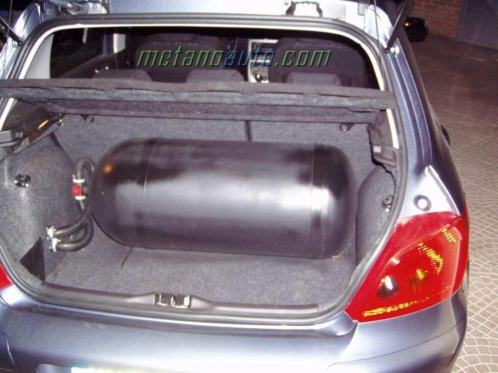 Peugeot 307 1 6 16v impianto bigas - Bombole metano per casa ...